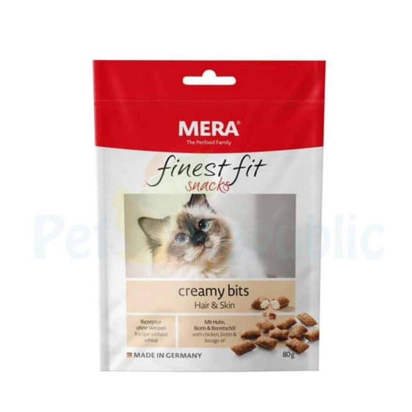 MERADOG Finest Fit Creamy Bits Hair and Skin 80gr - Pet Republic Jakarta