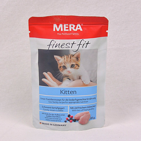 MERADOG Finest Fit Wetfood Kitten 85gr Cat Food Wet Meradog