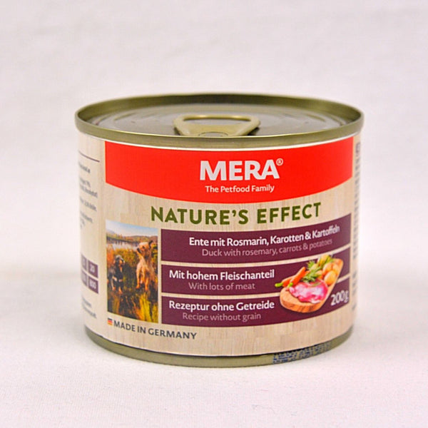 MERADOG Nature's Effect Wetfood ENTE - Duck 200gr Dog Food Wet Meradog