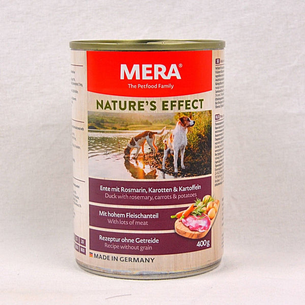 MERADOG Nature's Effect Wetfood ENTE- Duck 400gr Dog Food Wet Meradog