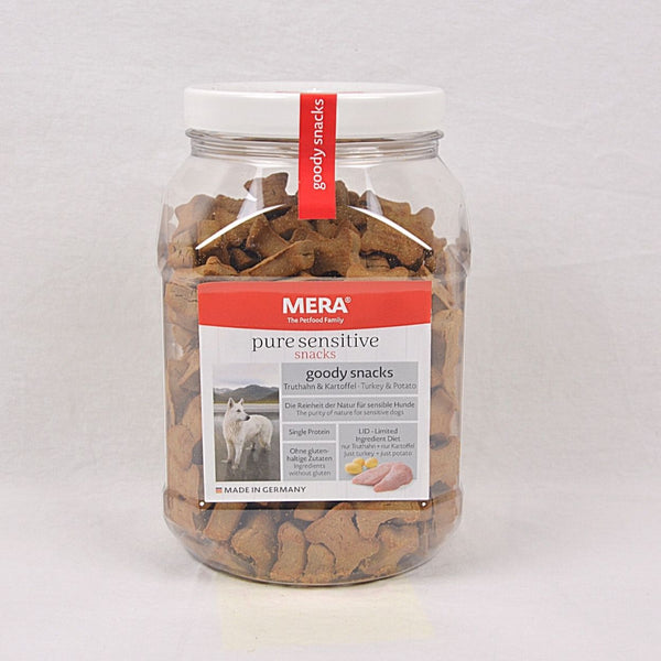 MERADOG Pure Sensitive Goody Snack Turkey and Potatoes 600gr Dog Snack Meradog