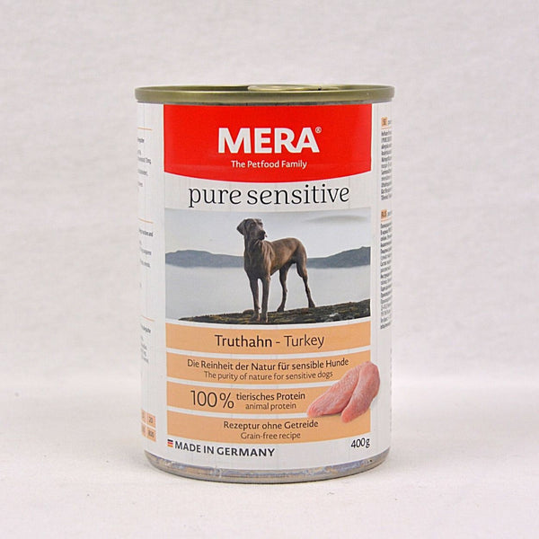 MERADOG Pure Sensitive Wetfood Truthahn Turkey 400g Dog Food Wet Meradog