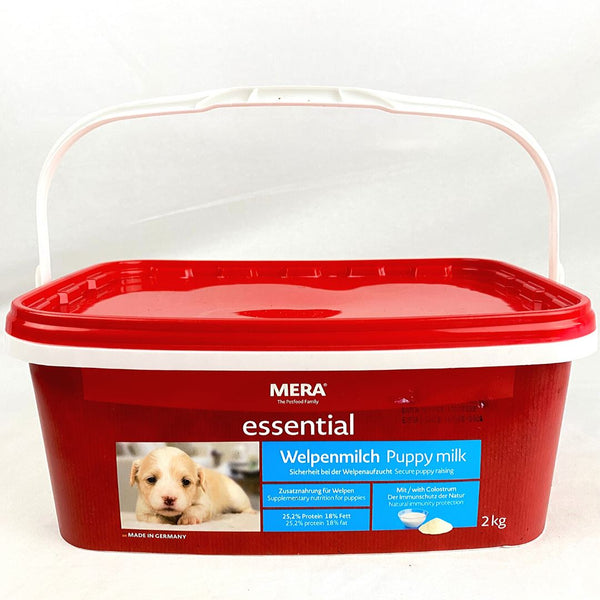 MERADOG Welpenmilch Puppy Milk 2kg Pet Nursing Care Meradog