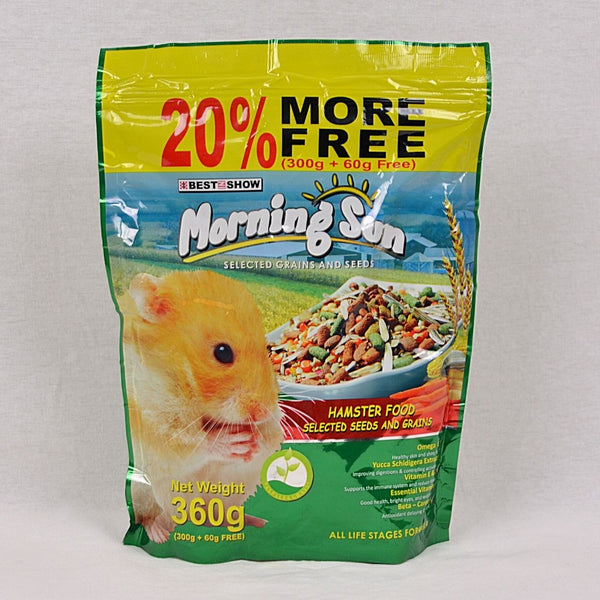 MORNINGSUN Hamster Food 360gr Small Animal Food Morning Sun