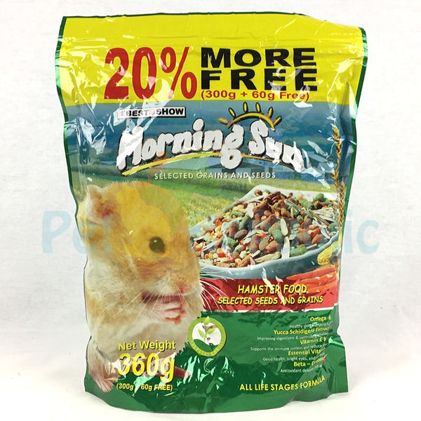 MORNINGSUN Hamster Food 360gr - Pet Republic Jakarta