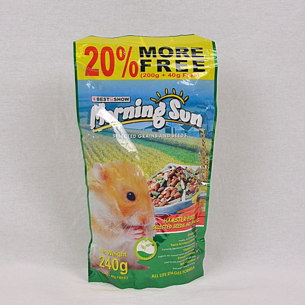 MORNINGSUN Hamster Food Seed And Grain 240g Small Animal Food Morning Sun