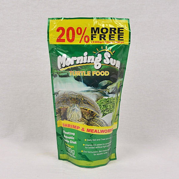 MORNINGSUN Turtle Food 120gr Reptile Food Best In Show