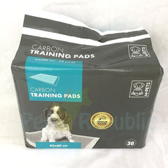 Mpets Carbon Training Pads 30pcs 45x60cm - Pet Republic Jakarta