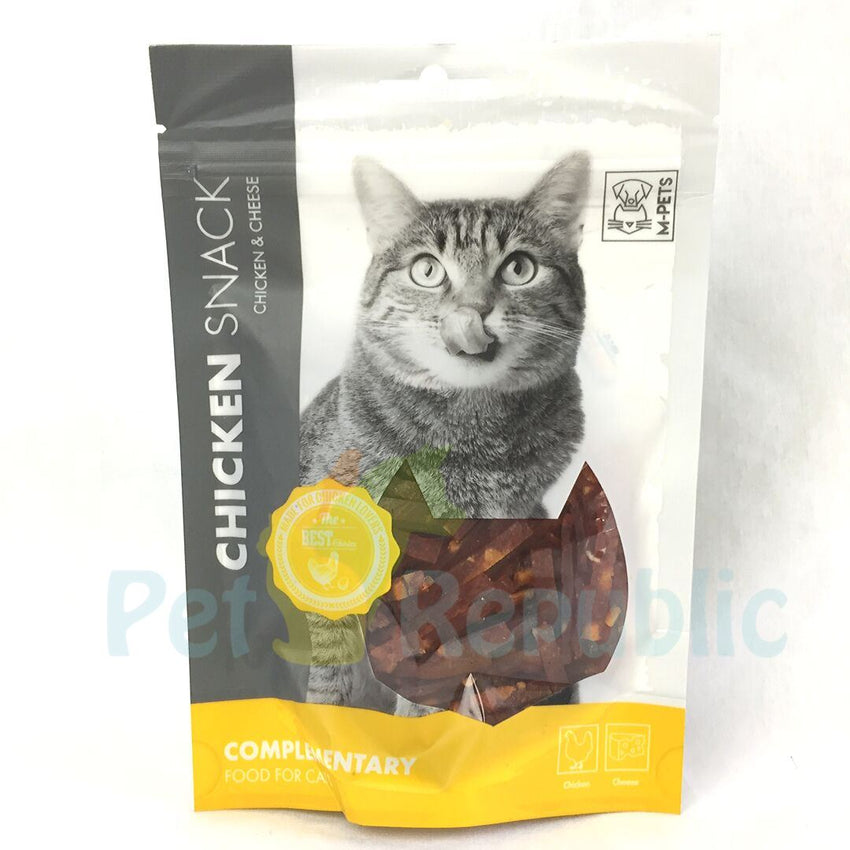 MPETS Cat Snack Chicken and Cheese 80gram - Pet Republic Jakarta
