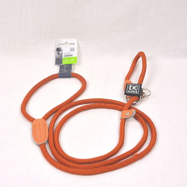 MPETS Dog Loop Leash Small BROWN Pet Collar and Leash MPets