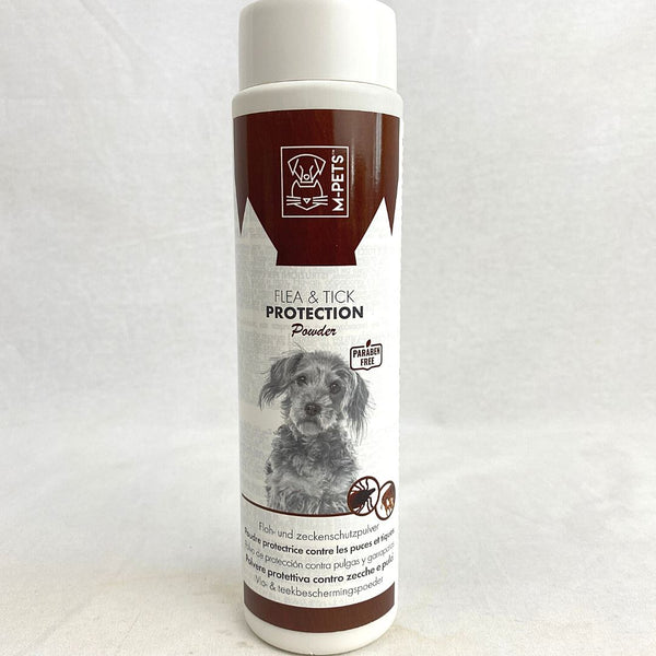 MPETS Flea And Tick Protection Powder 200ml Grooming Medicated Care MPets