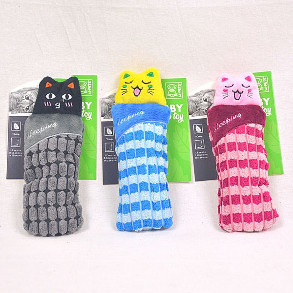 MPETS Herby Sleeping Cat Catnip Toy Cat Toy MPets