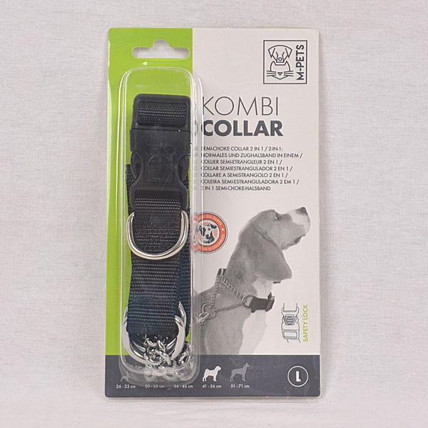 MPETS Kombi Collar L Semi Chocke Pet Collar and Leash MPets