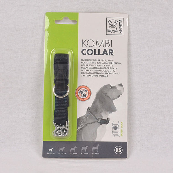MPETS Kombi Collar XS Semi Chocke Pet Collar and Leash MPets