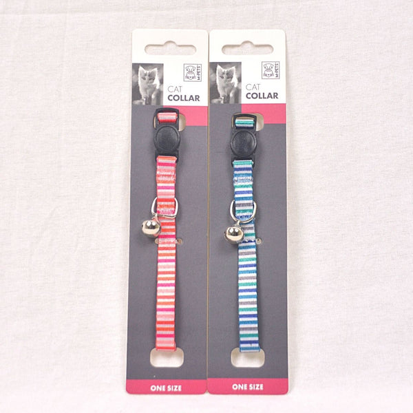 MPETS Lines Cat Collar Pet Collar and Leash MPets