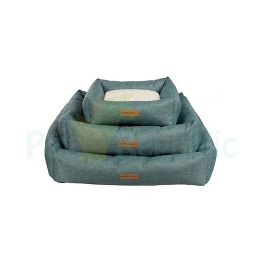 MPETS Pet Bad OLERON Basket Medium GREEN - Pet Republic Jakarta