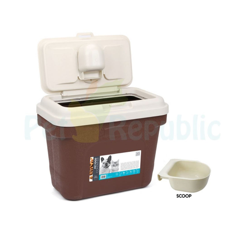 MPETS Pet Food Container 4,5kg - Pet Republic Jakarta