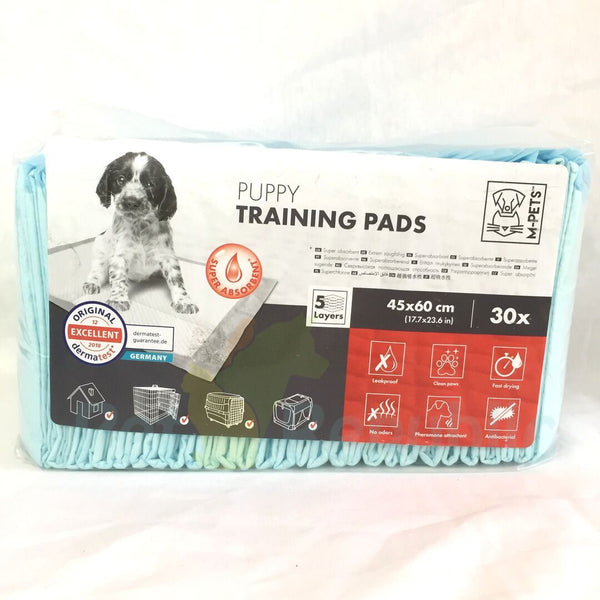 Mpets Puppy Training Pads 30pcs  45x60cm - Pet Republic Jakarta