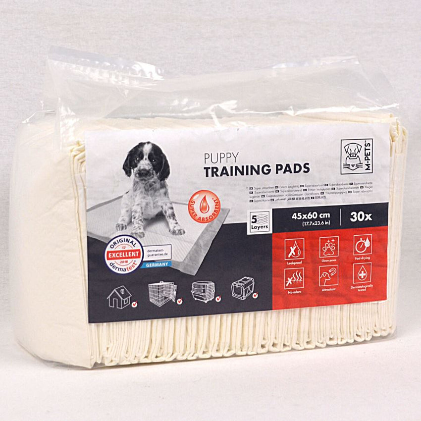 Mpets Puppy Training Pads 30pcs 45x60cm Dog Sanitation MPets