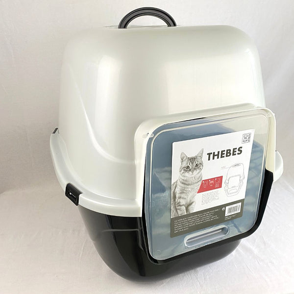 MPETS Thebes Cat Litter Box 50x42x47 Cat Sanitation MPets