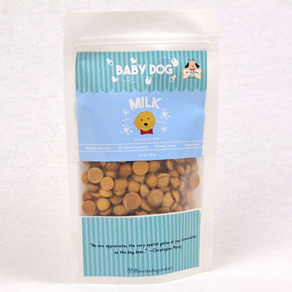 MRLEEBAKERY Baby Dog Biscuit Milk 100gr Dog Snack MR Lee Bakery
