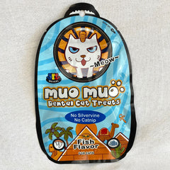 MUOMUO Dental Cat Treat 50g Cat Snack Muo Muo Salmon