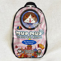 MUOMUO Dental Cat Treat 50g Cat Snack Muo Muo Shrimp