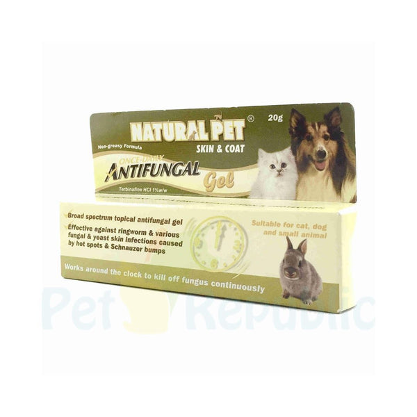 NATURALPET Skin and Coat Antifungal Gel 20gr - Pet Republic Jakarta