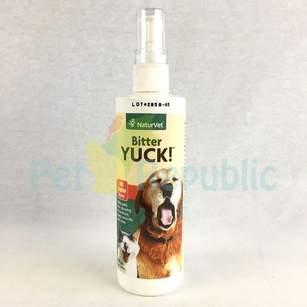 NATURVET Bitter Yuck ! No Chew Spray 236ml - Pet Republic Jakarta