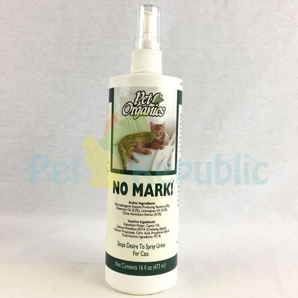 NATURVET Pet Organic NO MARK Cat Spray 473ml - Pet Republic Jakarta