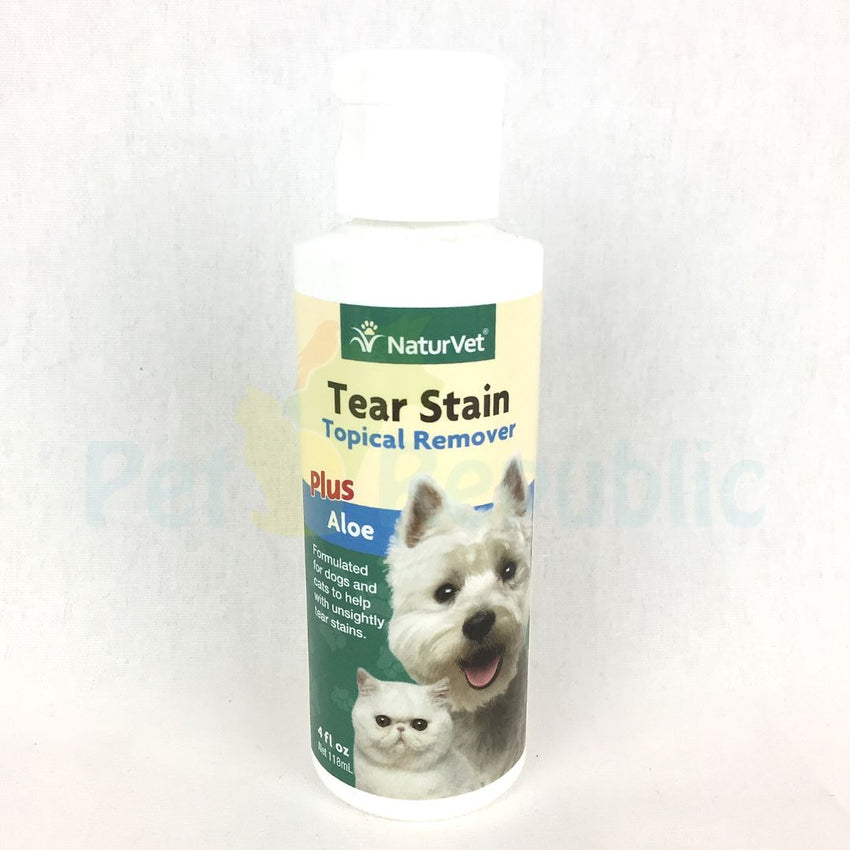 NaturVet Tear Stain Topical Remover 118ml - Pet Republic Jakarta