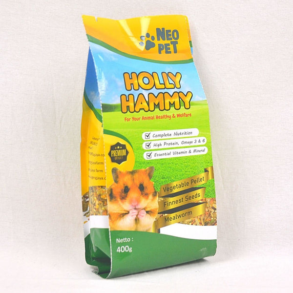 NEOPET Holly Hammy 400g Small Animal Food Neo Pet