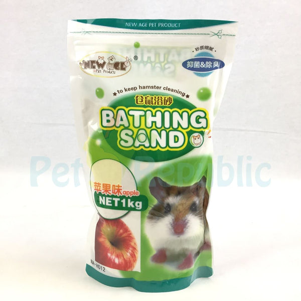 NEWAGE Hamster Bathing Sand Apple 1KG Small Animal Sanitasi New Age