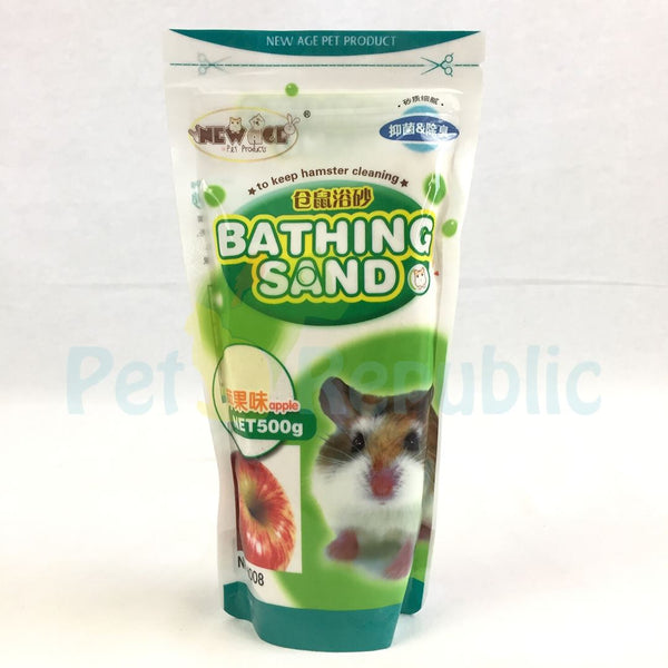 NEWAGE Hamster Bathing Sand Apple 500gr Small Animal Sanitasi New Age