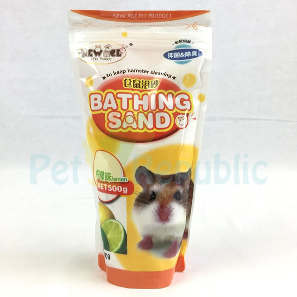 NEWAGE Hamster Bathing Sand Lemon 500gr Small Animal Sanitasi New Age