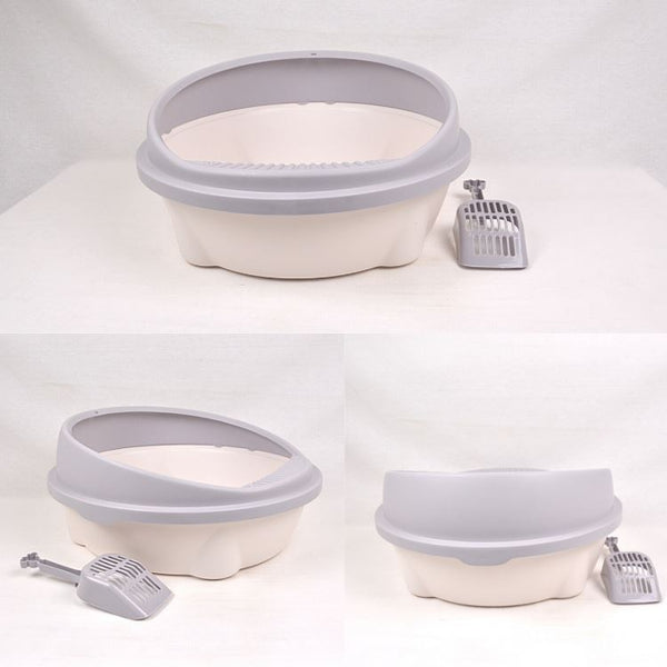NOONA NNCTX2L Cat Toilet with Scoop Large Cat Sanitation Noona