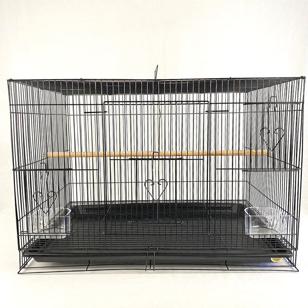 OCTAGON A316B Bird Cage Black 60 x 41 x H 41 cm Bird Cage Octagon