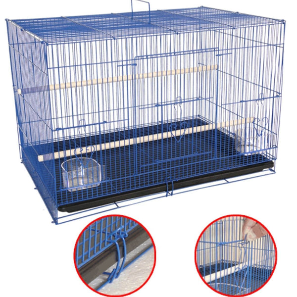 OCTAGON Bird Cage Colour 60x41x41 A316 Bird Cage Octagon