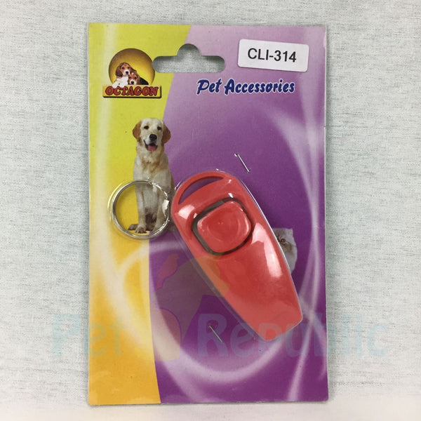 OCTAGON CLI314 Clicker Training With Whistle - Pet Republic Jakarta