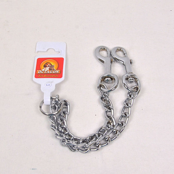 OCTAGON Two Snaps Chain 35x60cm TOS356 Pet Collar and Leash Octagon