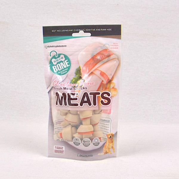 ORGO MEATS Knotted Bone Chicken Flavor Dog Dental Chew Meats Small-5pcs