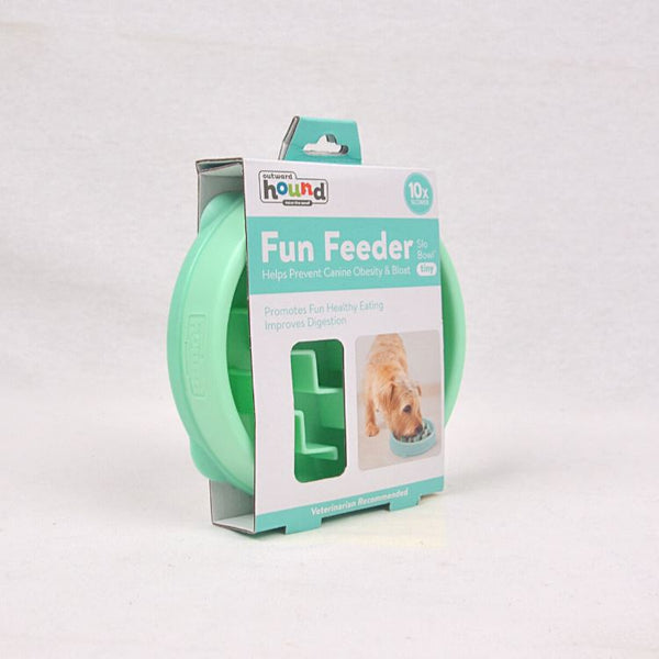 OUTWARDHOUND Fun Feeder Wave XSmall Pet Bowl Outward Hound