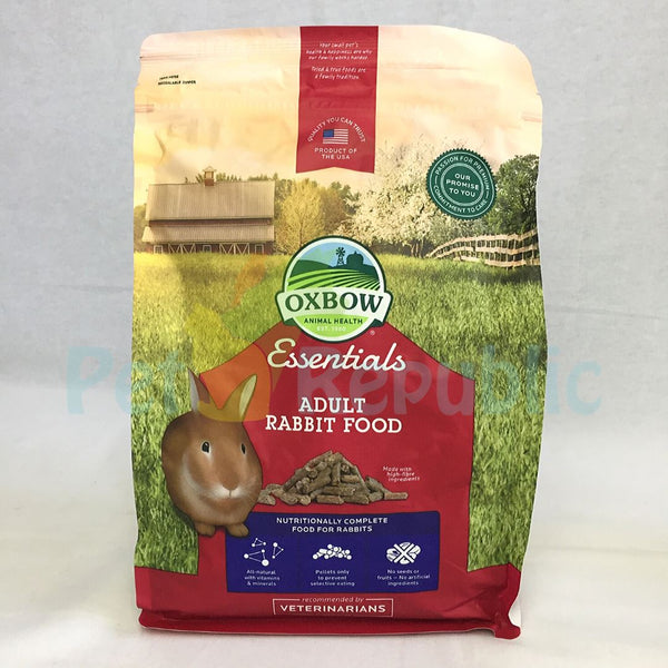 OXBOW Bunny Basic For Adult Rabbit 2.25kg - Pet Republic Jakarta