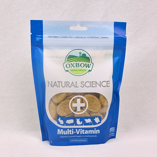 OXBOW Natural Science with Multivitamin Support 60tab Small Animal Supplement Oxbow