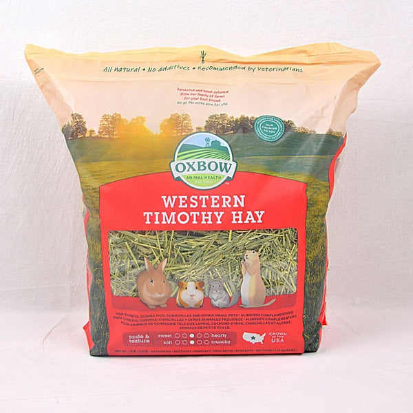 OXBOW Western Timothy Hay 1.13kg Small Animal Food Oxbow