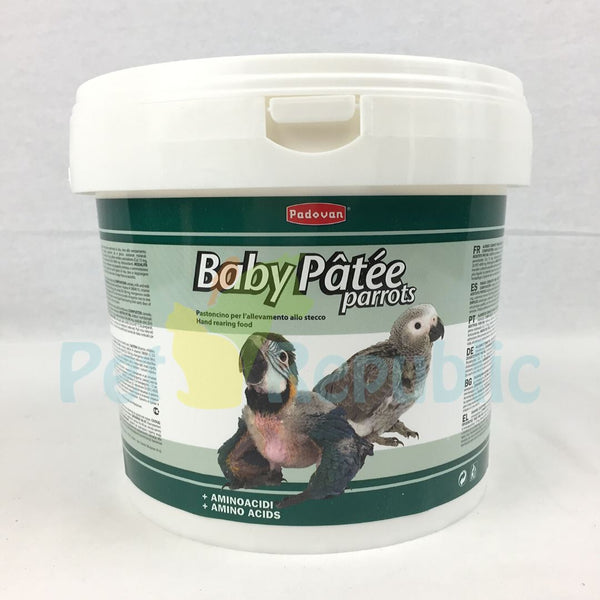 PADOVAN Baby Bird Patee for Parrot 1kg - Pet Republic Jakarta