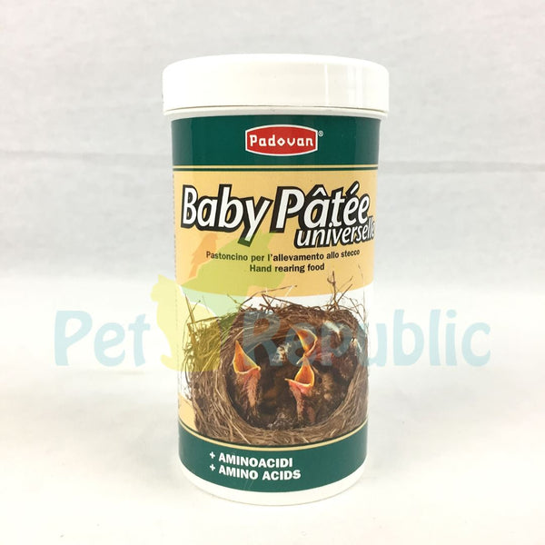PADOVAN Baby Patee Universelle For All Bird 100 GR - Pet Republic Jakarta