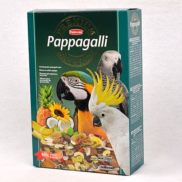 PADOVAN Premium Pappagalli for Parrot 500gr Bird Food Padovan