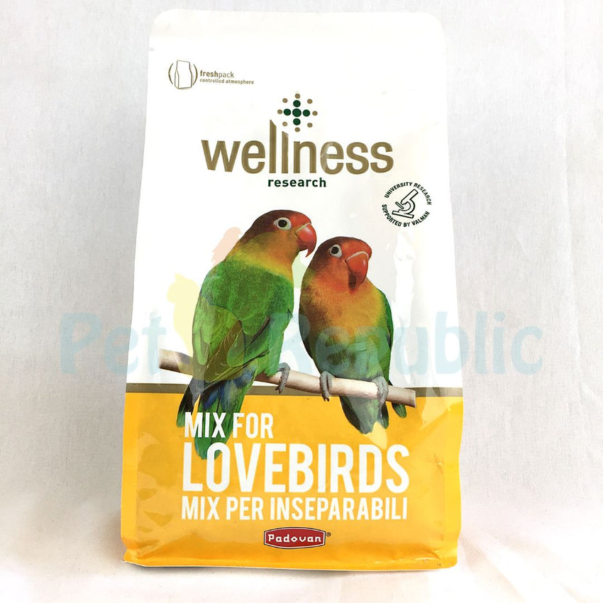 PADOVAN Wellness Lovebirds 850gr - Pet Republic Jakarta