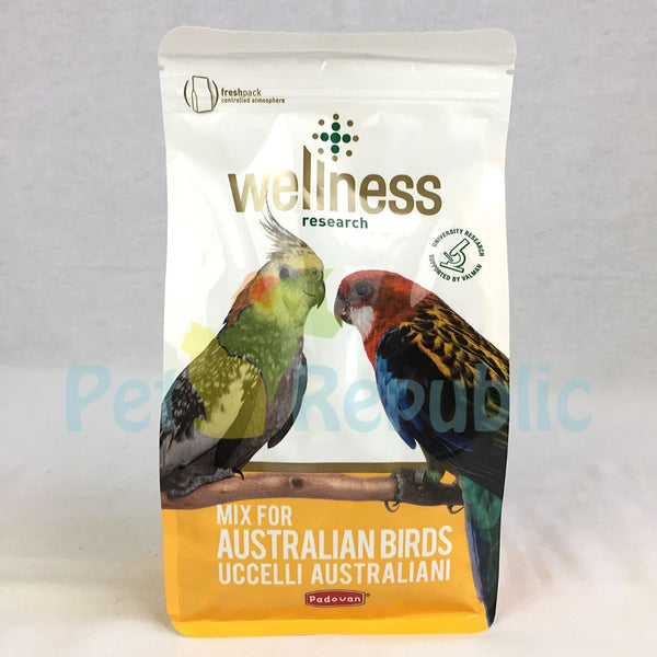 PADOVAN Wellness Mix For Australian Birds 750gr - Pet Republic Jakarta